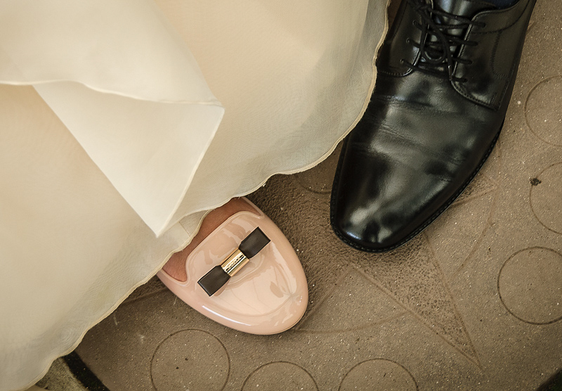 My wedding day - the shoes