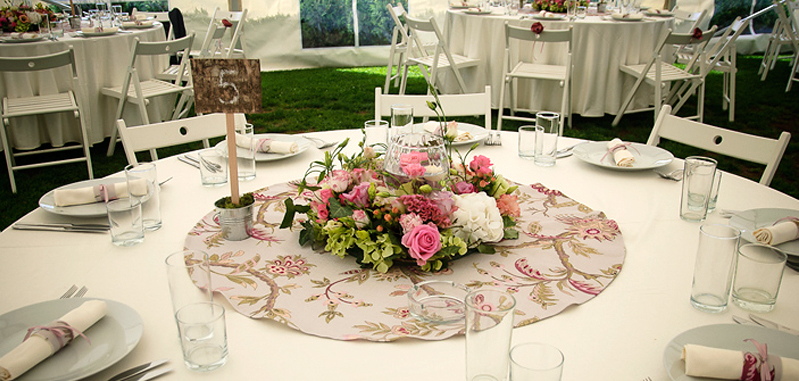 My wedding day - table arrangment