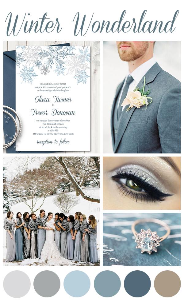 Tag Slate Blue Wedding